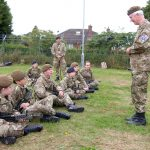 Cheshire army cadets