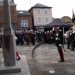 Rememberance day in Middlewich