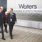 HRH Duke of Kent at Waters Corporation