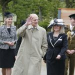 Vice Lord Lieutenant in attendance with the Duke of Edinburgh visiting Chester Zoo May 2012