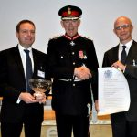 The Lord Lieutenant at the technology awards