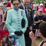 HRH Princess Royal at the Cheshire Show
