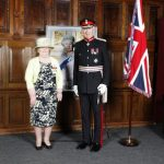 Mrs Beryl Duggan with the Lord Lieutenant