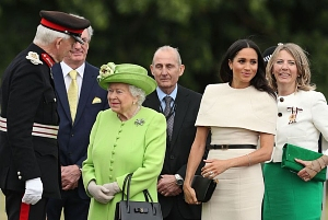 Vice Lord-Lieutenant with the Duchess of Sussex