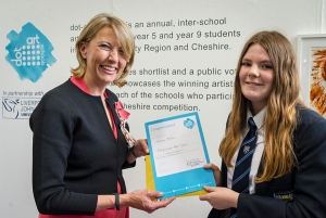 Vice Lord-Lieutenant presents certificate