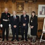 The Lord Lieutenant with a group