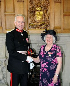 The Lord Lieutenant at Frodsham BEM