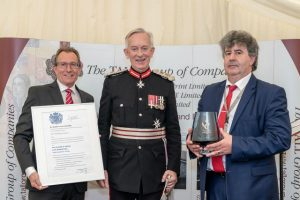 The Lord Lieutenant with group