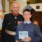 The Lord Lieutenant with Air Cadet