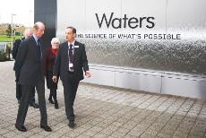 HRH Duke of Kent at Waters Corporation