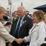 HRH The Countess of Wessex President of Cheshire Show Mr Tony Garnett DL Mrs Pamela Garnett