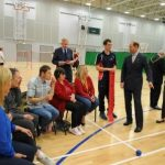 HRH The Earl of Wessex and para sports coach