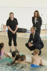HRH-The-Earl-of-Wessex-Swimming-Pool