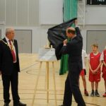 HRH The Earl of Wessex Unveiling Plaque