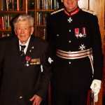 Lord Lieutenant with John Walker MBE