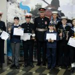 Sea cadet award winners