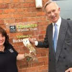 Tracey Gibson and David Briggs meet Coco the barn owl from Cheshire Wildlife Trust