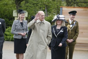 Vice Lord Lieutenant in attendance with the Duke of Edinburgh Chester Zoo May 2012