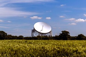 Jodrell bank in Cheshire