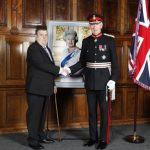 Mr Geoffrey Prince and the Lord Lieutenant