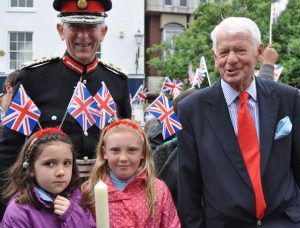 Lord Lieutenant at Nantwich Primary School