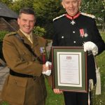 Richard Ayres and the Lord Lieutenant