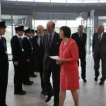 Duke of Kent at West Cheshire College